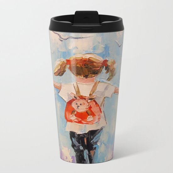 Childhood Metal Travel Mug