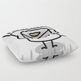 I hate my job -  Toiletpaper Floor Pillow