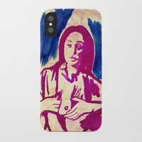 georgia iPhone & iPod Cases featuring Georgia by Lord Egon Will