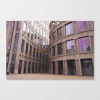 gotham Canvas Prints featuring gotham by CouveCollective