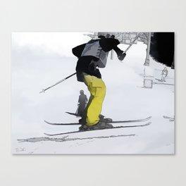Natural High   - Ski Jump Landing Canvas Print
