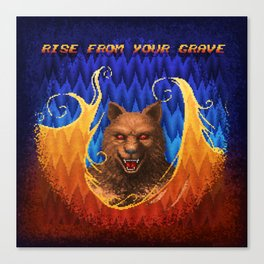 Beast Alterations - Rise From Your Grave Canvas Print