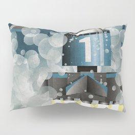 Thunderbird 1 Space Rocket Launch Pillow Sham