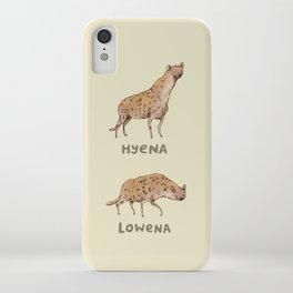 Hyena Lowena iPhone Case
