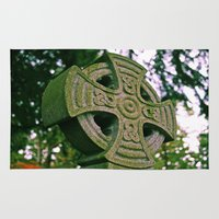 celtic Area & Throw Rugs featuring Celtic memories by Vorona Photography