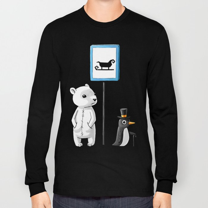 School Stop Long Sleeve T-shirt
