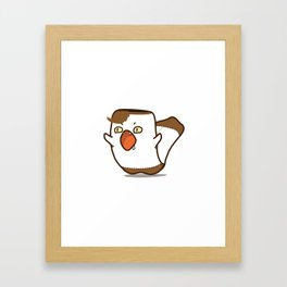 Angry chouchou Framed Art Print