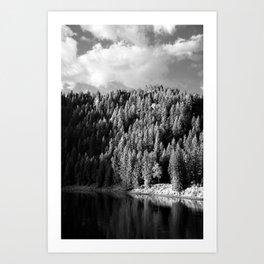Riverside. Art Print