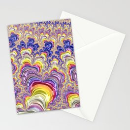 Flashy Fractal Stationery Cards