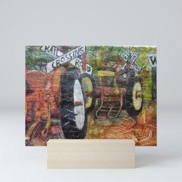 Tractors Mini Art Print