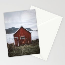 Red Cabin Stationery Cards