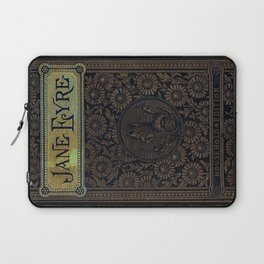 Jane Eyre by Charlotte Bronte, Vintage Book Cover Laptop Sleeve