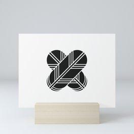 Kikuchi Clan · Black Mon Mini Art Print