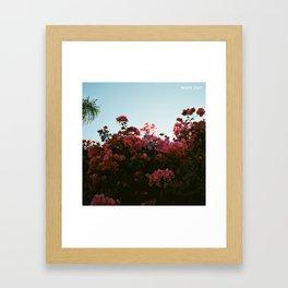 make out lany Framed Art Print