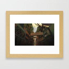 Z_W_O_A_M Framed Art Print