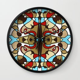 Contigeaux Multiplied No.2 Wall Clock