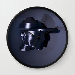 Head Escalates (Say yes to Deconstructivism) Wall Clock