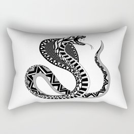 black king cobra ecopop Rectangular Pillow
