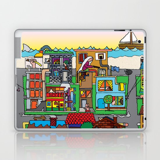 Good Magazine Neighborhoods Laptop & iPad Skin