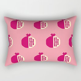 Fruit: Pomegranate Rectangular Pillow