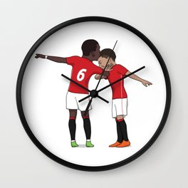 Pogba & Lingard DAB Wall Clock