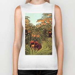 "Henri Rousseau ""Apes in the Orange Grovee"", 1910 Biker Tank"