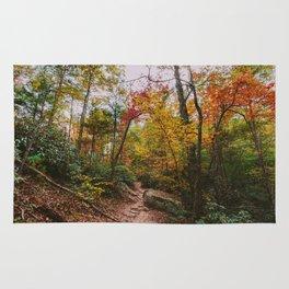 Kentucky Autumn at Natural Bridge State Park Rug