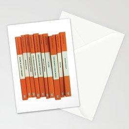 Penguin Books Stacks Stationery Cards