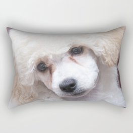 The Innocence of a Puppy Rectangular Pillow