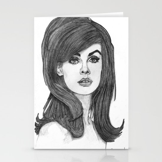 Jean Shrimpton Stationery Cards