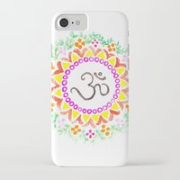 ohm iPhone & iPod Cases featuring Ohm / OM  by HollyJonesEcu