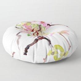 Cherry Blossom Branch, Sakura Blossom Floor Pillow