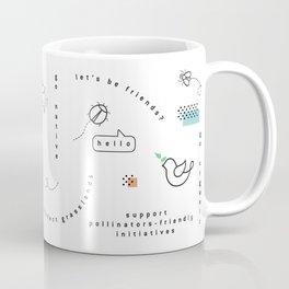 Hello Pollinators Coffee Mug