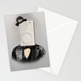 Faces of the Past: Mp3 Player Stationery Cards