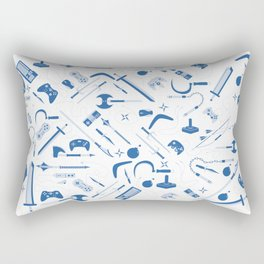 Weapons Rectangular Pillow