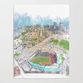 Fenway Park Poster