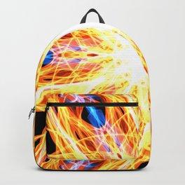 GFTNeon005 , Neon Abstract Backpack