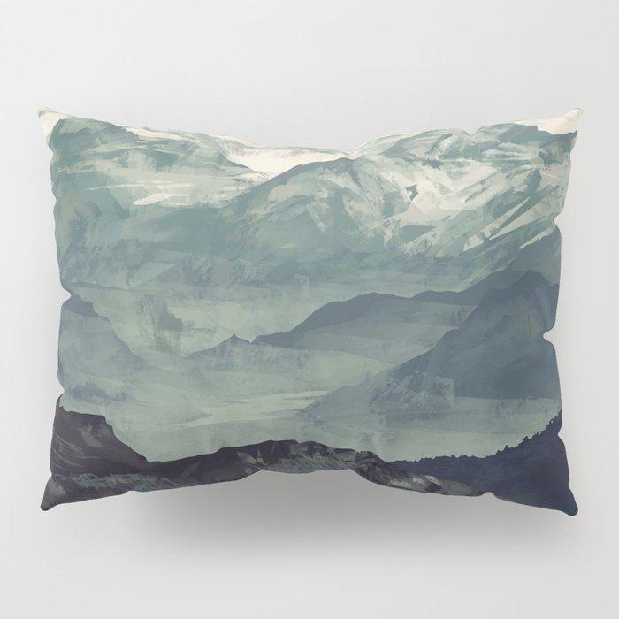 Mountain Fog Pillow Sham