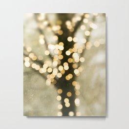 Twinkle - Whimsical Abstract Metal Print