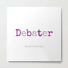 Master Debater Metal Print