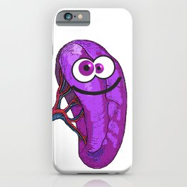 Happy Spleen iPhone Case