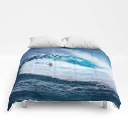 Wave and Surfer Comforters