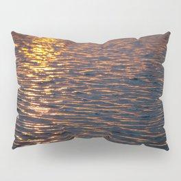 Sunset over water Pillow Sham