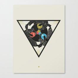 Trinity Icon - Three Color Canvas Print