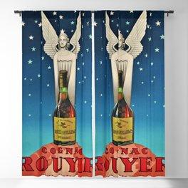 Vintage 1945 Cognac Rouyer Advertisement Poster Blackout Curtain