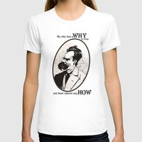 nietzsche T-shirts featuring Nietzsche by Scott Davidson