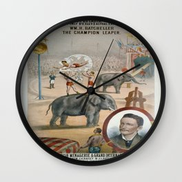 Vintage poster - The Champion Leaper Wall Clock