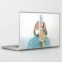 queer Laptop & iPad Skins featuring I`m on the queer street by Pilar Diamante