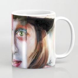 Many Faces of Johnny Depp Coffee Mug