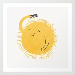 Good Morning, Sunshine Art Print